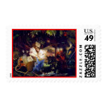 Magical Fairy Fantasy Postage Stamp: Fairy Bower