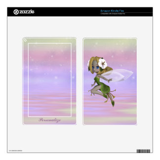 Magical Fairy Personalized Kindle Skin