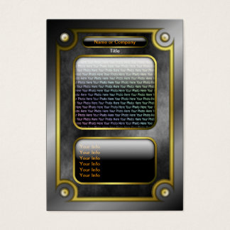 Magical Fantasy Game Card with QR Code