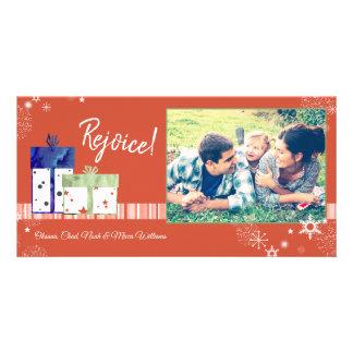 Magical & Festive Holiday Family Card