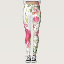 magical Floral garden all over printed leggings