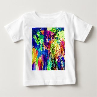 Magical Floral Wave Pattern V2 Baby T-Shirt