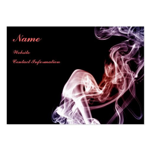 Magical Flow - Smoke Business Card