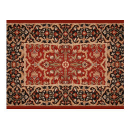 Magical Flying Carpet Postcard