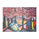 magical forest by mandy ashby stretched canvas prints