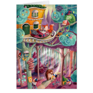 Magical Forest Card
