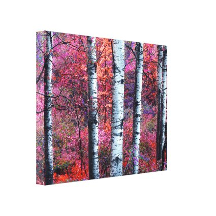 Magical Forest Gallery Wrapped Canvas