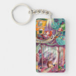Magical Forest Key Chain