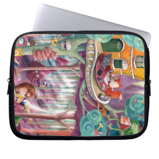 Magical Forest Laptop Sleeves
