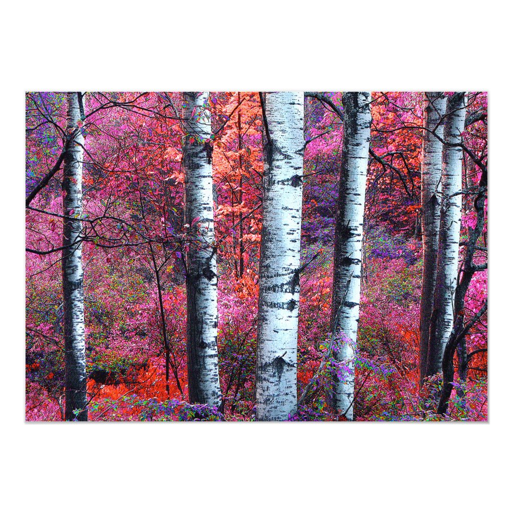 Magical Forest Summer Solstice Party Invitation
