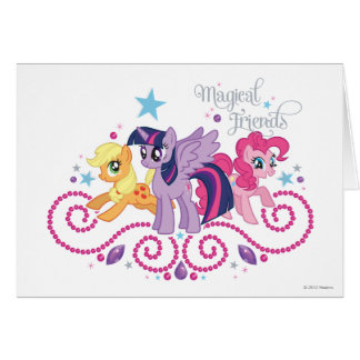Magical Friends Card