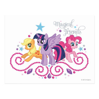 Magical Friends Postcard