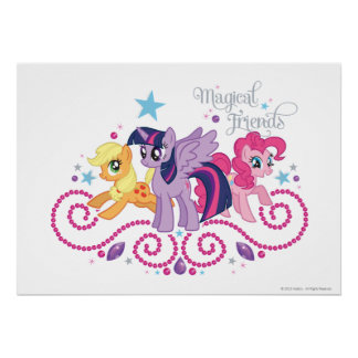 Magical Friends Poster