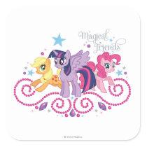 Magical Friends Square Sticker