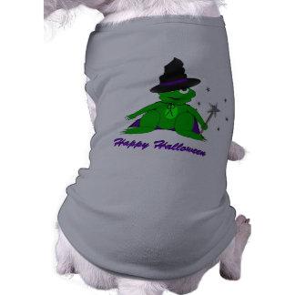 Magical Frog Happy Halloween Doggy Tshirt
