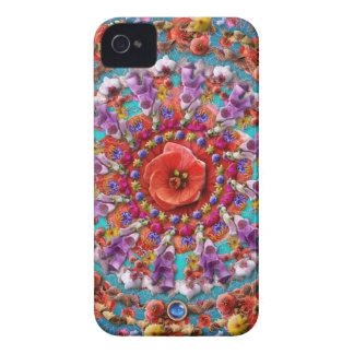 Magical Garden ~ Flowers and Butterflies Case-Mate iPhone 4 Case
