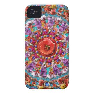 Magical Garden ~ Flowers and Butterflies iPhone 4 Case