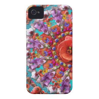 Magical Garden ~ Flowers and Butterflies iPhone 4 Case-Mate Case