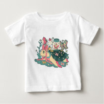 Magical Girl Turtle Baby T-Shirt