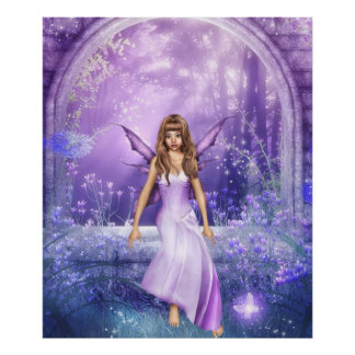 Magical Glade Poster