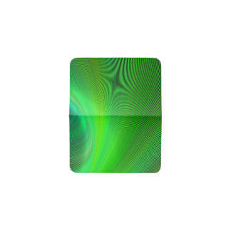 Magical green business card holder