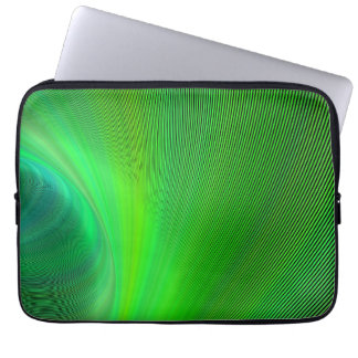 Magical green computer sleeve