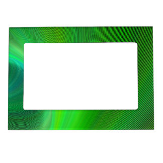 Magical green magnetic photo frame