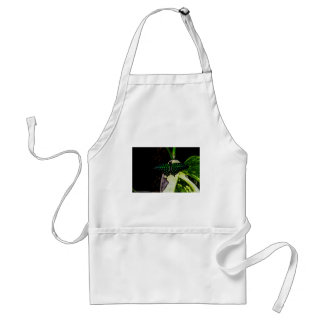 Magical Green Spotted Butterfly Adult Apron
