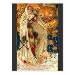 Magical Halloween Greetings Postcard