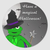 Magical Halloween Stickers