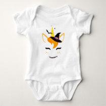 Magical Halloween Unicorn Baby Bodysuit