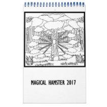 Magical Hamster 2017 Calendar
