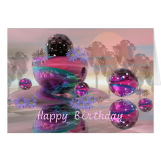 Magical Happy Birthday card