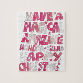 Magical Happy Christmas Jigsaw Puzzle