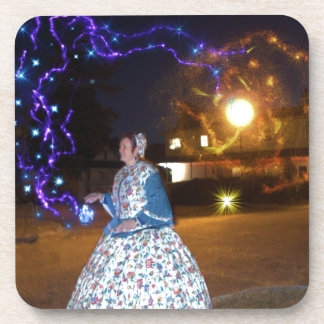 Magical Haunted Dahlonega- Spirits, Legends &Lore Beverage Coaster