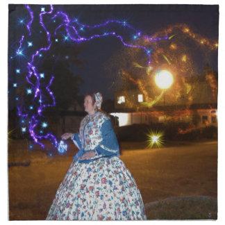 Magical Haunted Dahlonega- Spirits, Legends &Lore Napkin