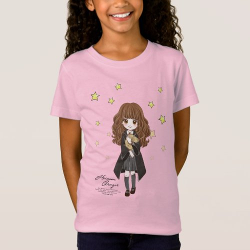 Magical Hermione Granger Watercolor T_Shirt