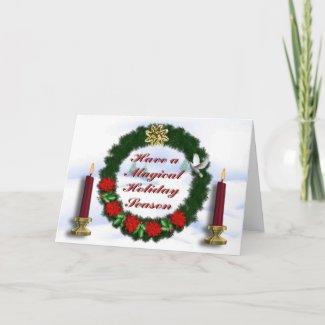 Magical Holidays Holiday Card