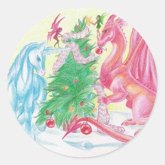 Magical Holidays Sticker