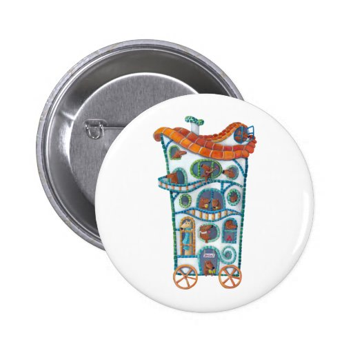 Magical House on Wheels Buttons