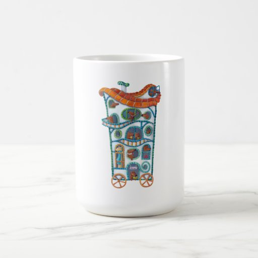 Magical House on Wheels Mug
