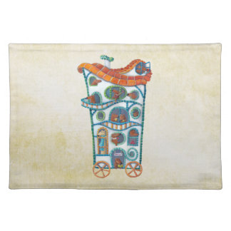 Magical House on Wheels Placemats