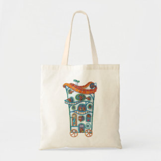 Magical House on Wheels Tote Bag