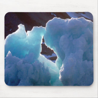 Magical ice bergs mouse pad