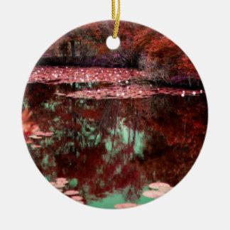 Magical Landscape Ceramic Ornament
