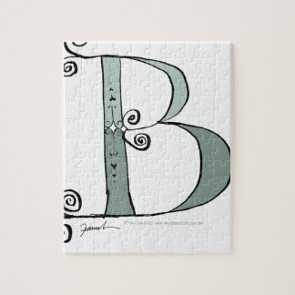 Magical Letter B from tony fernandes design Jigsaw Puzzle