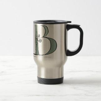 Magical Letter B from tony fernandes design Travel Mug