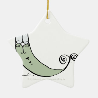 Magical Letter C from tony fernandes design Ceramic Ornament