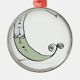 Magical Letter C from tony fernandes design Metal Ornament