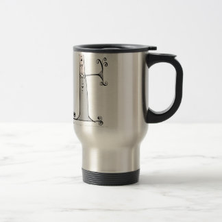 Magical Letter F from tony fernandes design Travel Mug